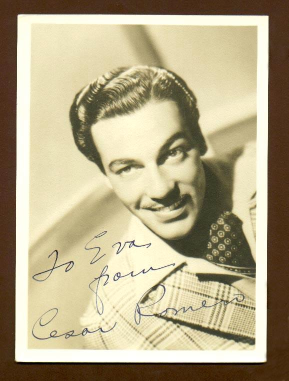 Cesar Romero Actor Cesar Romero Click on The
