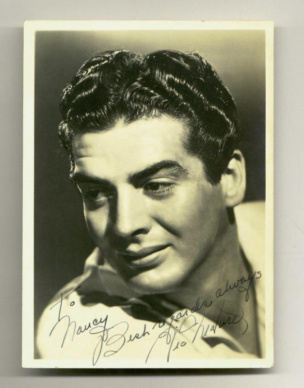 victor mature 5 x 7 Naked Gymnastics